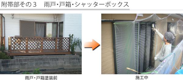 附帯部その3 雨戸・戸箱・シャッターボックス
