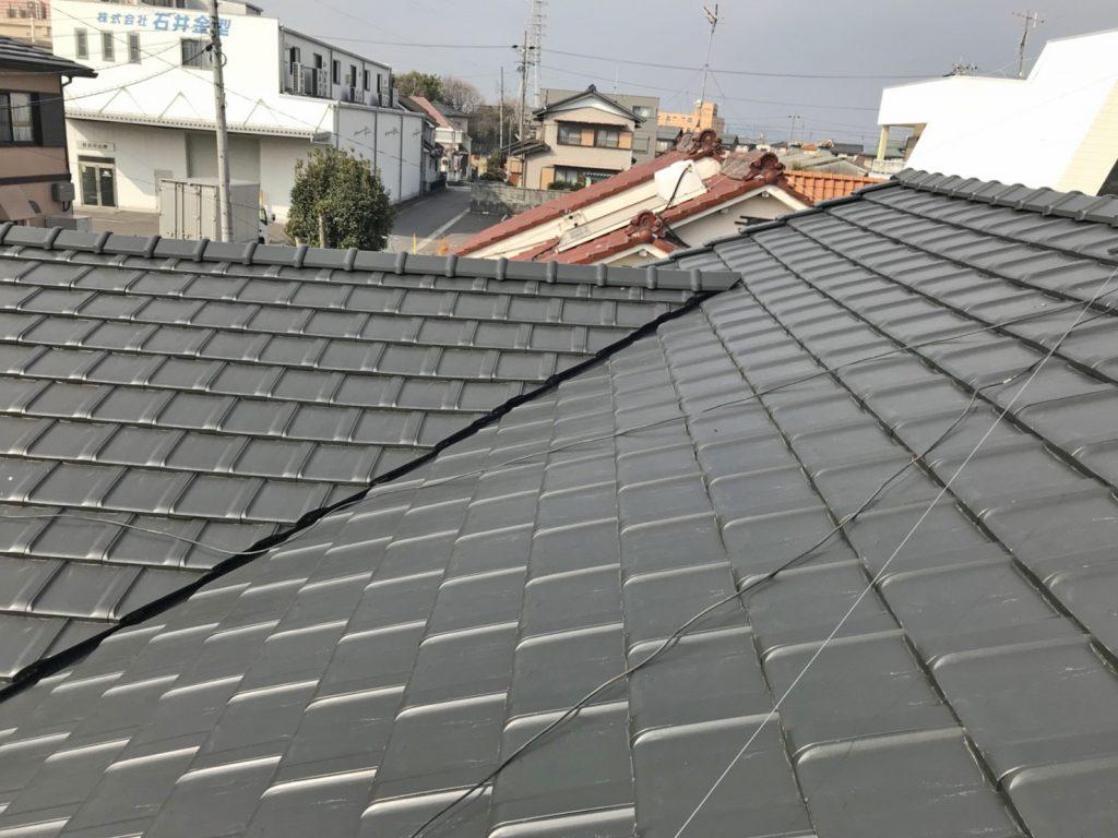 三輪様邸 完成写真(屋根)