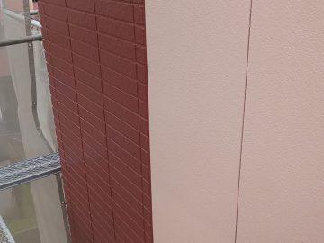 岡様邸外壁ムキ上塗りです。_181017_0012