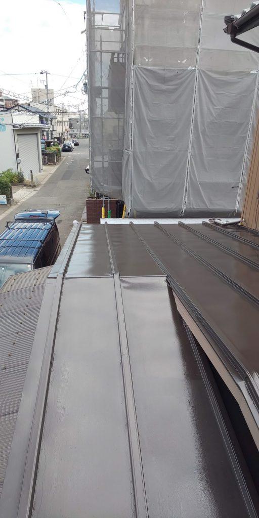 池内様邸、屋根、付帯上塗りです。_181023_0003