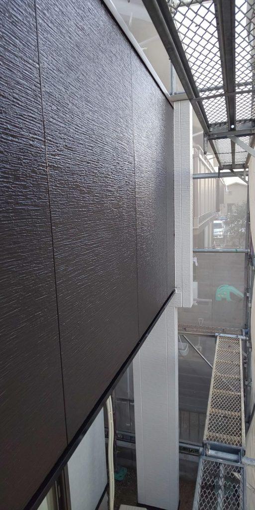 入谷様邸外壁、屋根、付帯上塗りです_181214_0003